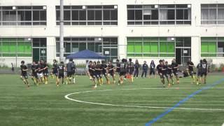 2016/5/1 関東サッカーリーグ1部 エリースFC東京 試合前練習