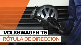Cómo cambiar Rótula barra de dirección VW TRANSPORTER V Platform/Chassis (7JD, 7JE, 7JL, 7JY, 7JZ, 7FD - vídeo gratis en línea