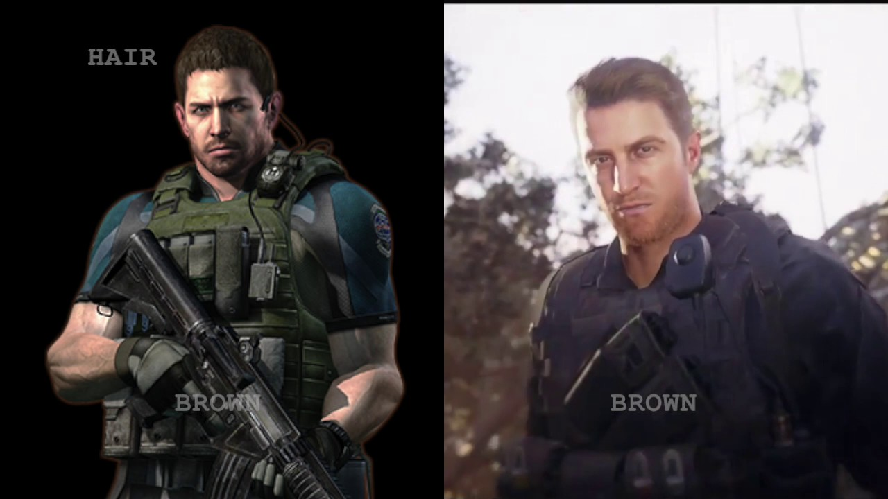 Chris Redfield Re7 Youtube