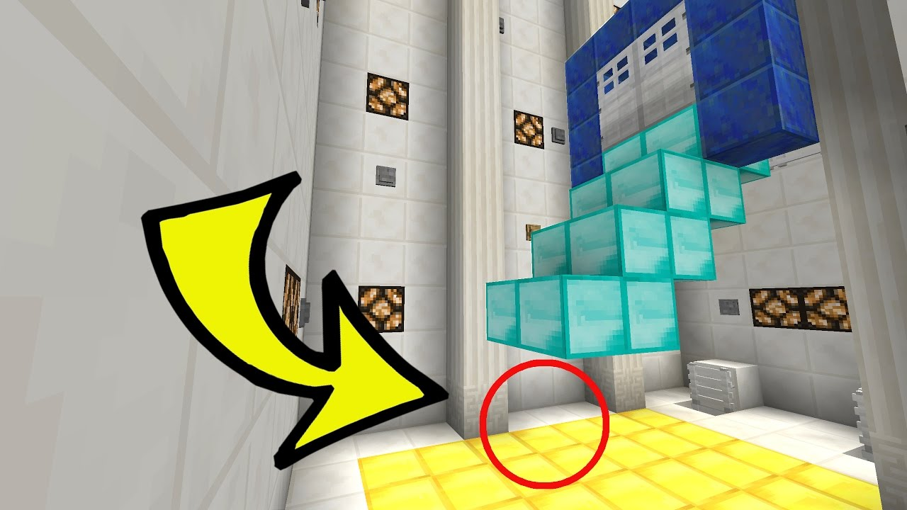 how to make a falling trap in minecraft