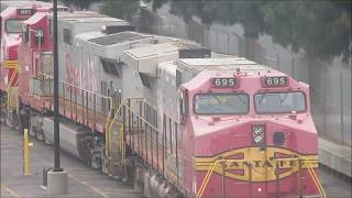 6/3/17 More Awesome LA trains: Feat PVs, NS T4 3669, ATSF 677, new arrowedge!