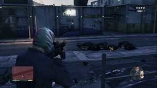 Grand Theft Auto V - Blitz Play: Hold Position NOOSE Battle, Rocket Chopper, Trevor Take Out Snipers