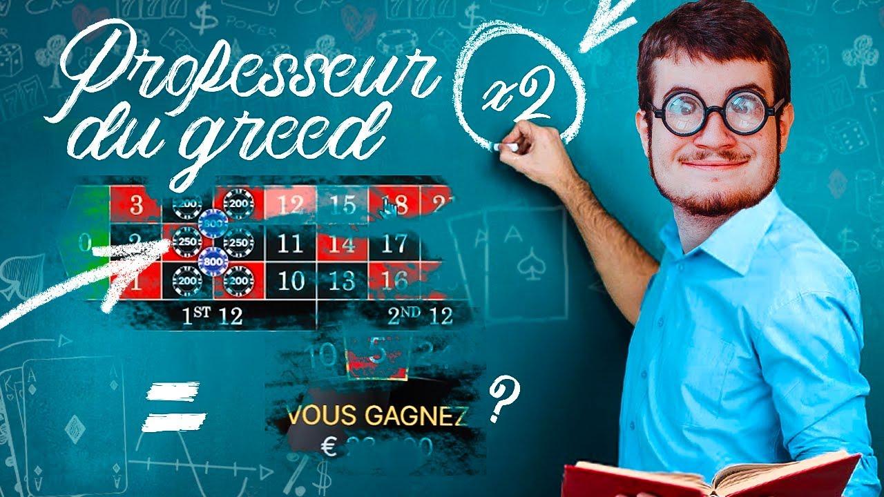 Bidule, professeur du Greed. (BEST OF CASINO)