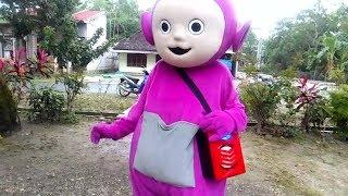 Download Mp3 Badut Teletubbies Ngamen, Tinky Winky Joget Balonku Ada Lima   Anak-anak Kecil S