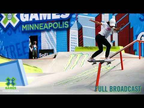 Women's Skateboard Street: FULL BROADCAST | X Games Minneapolis 2019
