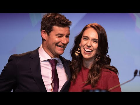 Jacinda Ardern claims landslide victory in New Zealand elections