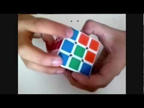 como armar un cubo rubik 3x3