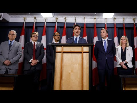 Prime Minister Trudeau delivers remarks on the Trans Mountain Expansion pipeline project