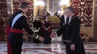 El nuevo embajador en España de Georgia entrega las cartas credenciales a Felipe VI