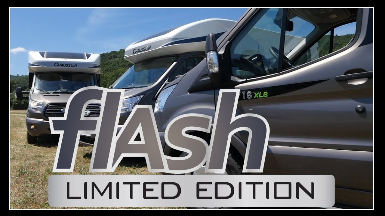 Eclairage Led 12 Volts Camping Car Flash Limited Edition France 2017 Chausson Camping Cars