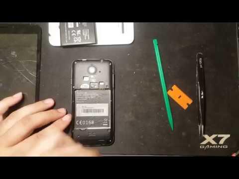 Vodafone Smart 4 disassembly VDF 888