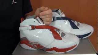 Обзор кроссовок Jordan 8.0 - SoleFinder.ru(Видео обзор баскетбольных кроссовок Jordan 8.0., 2012-03-27T15:25:01.000Z)