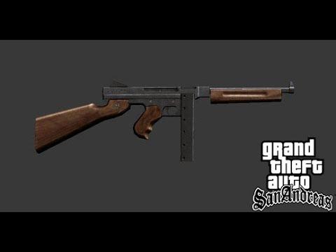 Gta SA Mod: Thompson M1 SMG