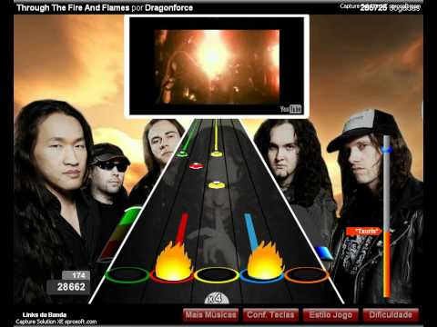 Through the fire and flames- Dragonforce 60k guitar flash ...Fire And Flames Dragonforce
