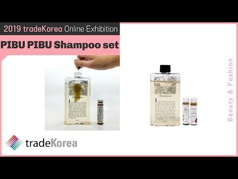 2019 Online Exhibition: PIBU PIBU Shampoo set