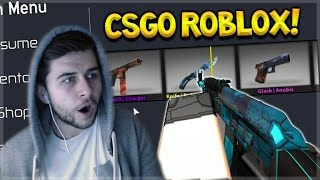 CSGO IN ROBLOX! Counter Blox Roblox Offensive Crate Opening! (OMG SO CLOSE!!)