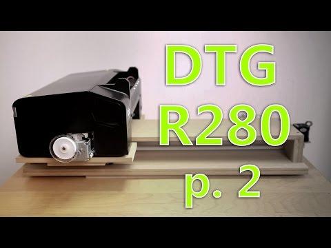 DIY DTG A4 Epson R280 p.2 \ Запилил корпус по-быстрому