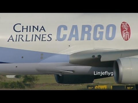 China Airlines Cargo 華航 Boeing 747-400F B-18725