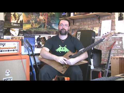 ESP LTD FX 401SM Demo by ESP Guitars Artist Rob Chapman