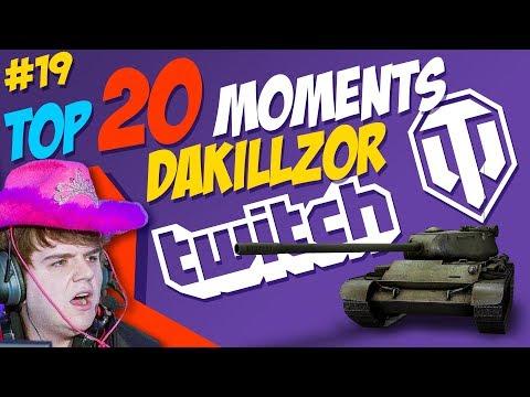 #19 Dakillzor [FAME] TOP 20 Moments | World of Tanks thumbnail