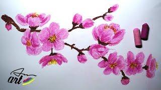 How To Draw Cherry Blossom (Sakura) - VERY EASY!