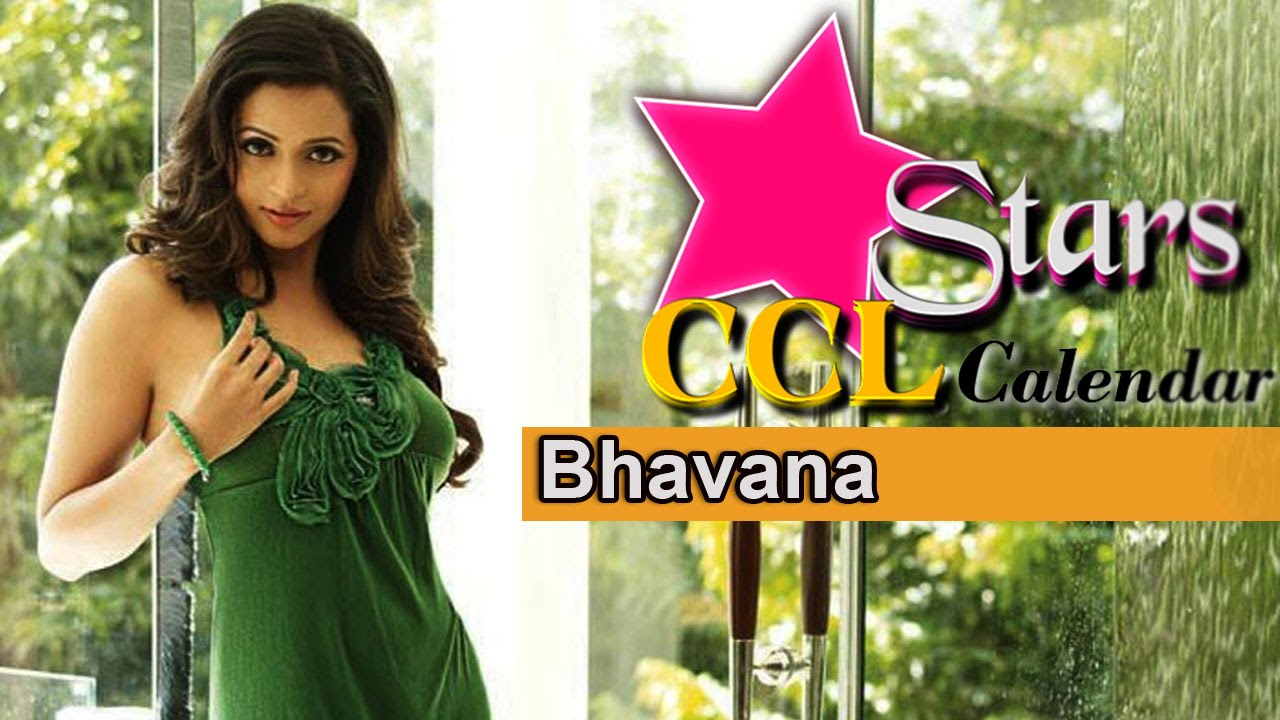 Bhavana Photoshoot For Ccl Calendar Kerala Strikers Brand Ambassador