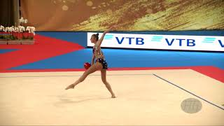 SOLDATOVA Aleksandra (RUS) - 2018 Rhythmic Worlds, Sofia (BUL) - Qualifications Ball