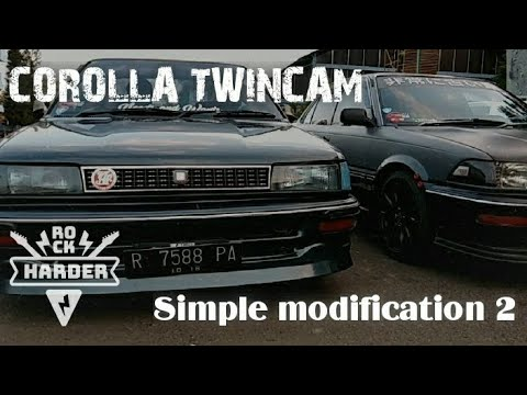 COROLLA TWINCAM // MODIFIKASI SEDERHANA PART II