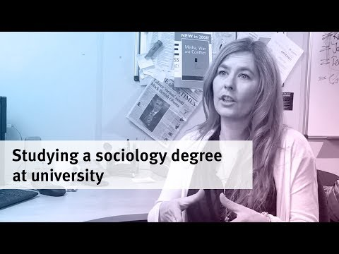 Why study a Sociology degree at university?