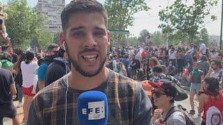 Informe a cámara: Chilenos vuelven a las calles en sexto día de protestas