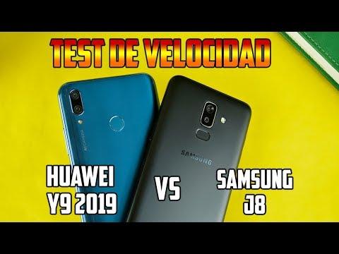 Huawei Y9 2019 vs Samsung J8 | TERRIBLE HUMILLACIÓN | Test de velocidad | Tecnocat
