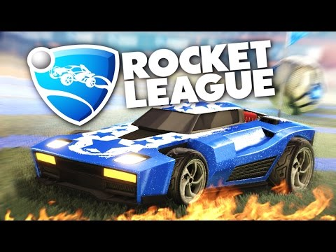 Rocket League - Убойный футбол на машинках!