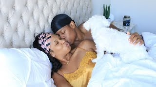 REAL LIFE COUPLES MORNING ROUTINE 2018  (EXTREMELY CUTE & FUNNY)
