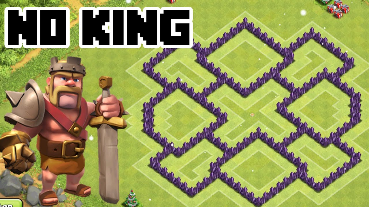 Clash of clans th7 trophy base best town hall 7 defense without the