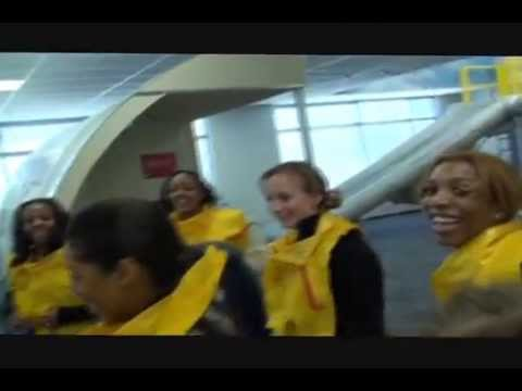Airtran Flight Attendant Training Ditching The Plane In