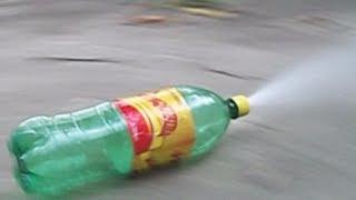 foguete de garrafa PET