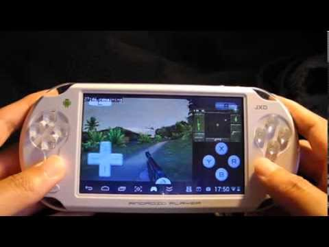 JXD Android Gamepad ps1,N64,Arcade,Nes,Snex,MD,GBA,NDS Emulator