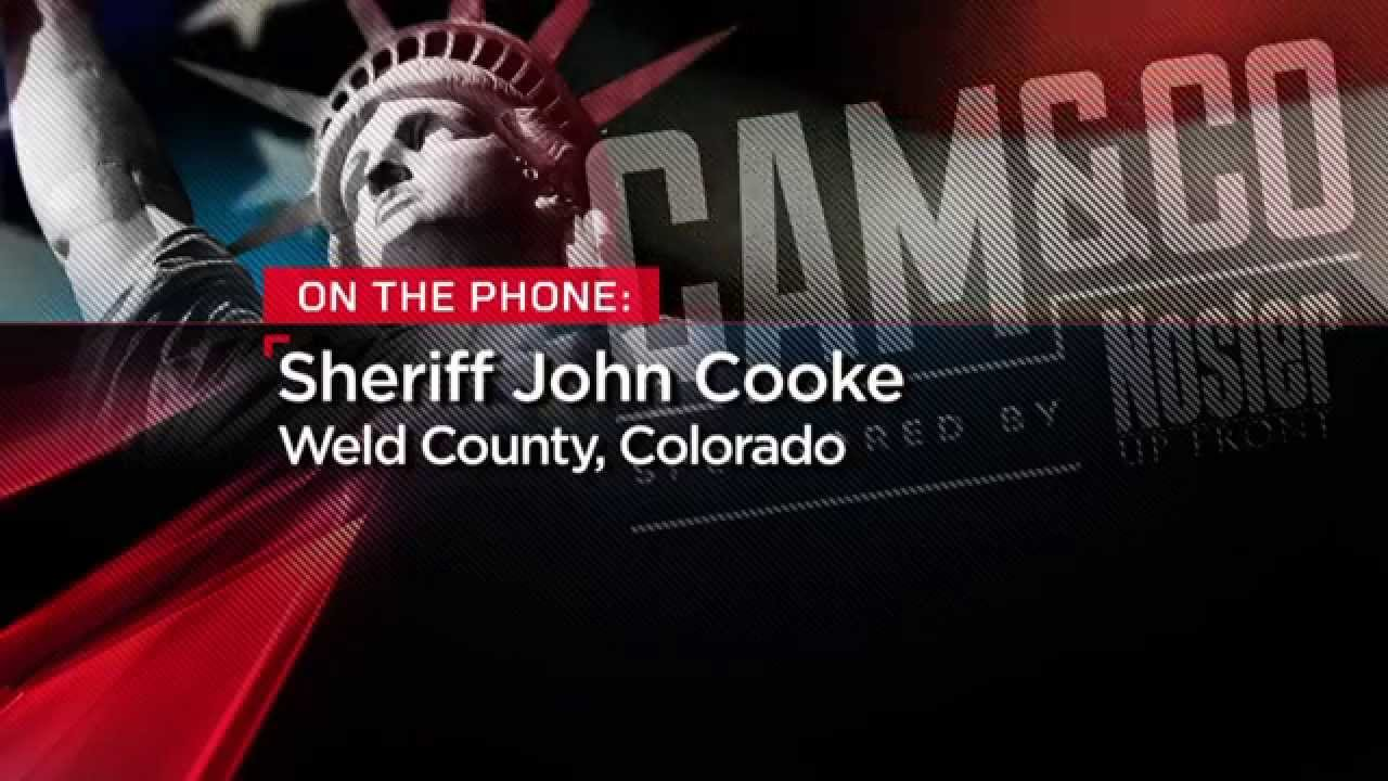 NRA News Cam & Co | Weld County Colorado Sheriff John Cooke on Governor  Hickenlooper, June 17, 2014