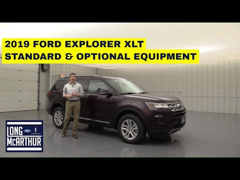 2019 FORD EXPLORER XLT COMPLETE GUIDE STANDARD AND OPTIONAL EQUIPMENT