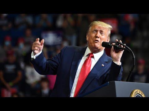 ترامب يهاجم منافسه بايدن ويعتبره -دمية- في يد -اليسار الراديكالي-  - 07:58-2020 / 6 / 21
