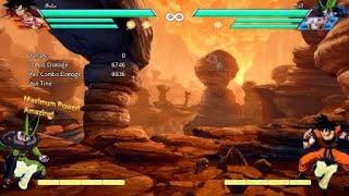 DBFZ: Base Goku Corner Combo with Sparking Kaioken