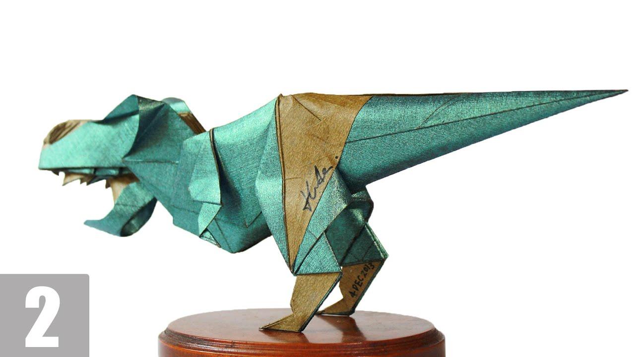 how to make origami robot transformer