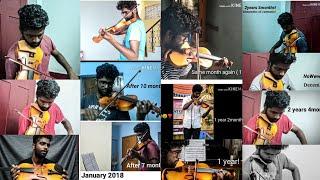 Violin progress video - 2 Years | Adult Beginner Violinist