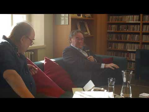 Simon Frith interview in Turku library