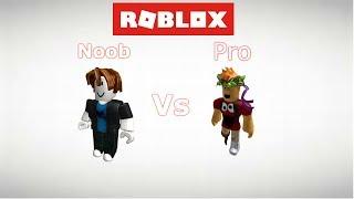 ROBLOX - Noob vs Pro sociale esperimento 1