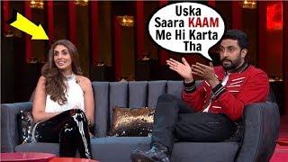 Abhishek Bachchan & Shweta Bachchan Nanda's BEST Moments On Koffee With Karan 6
