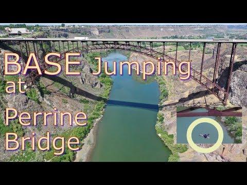 Mavic:  BASE Jumping at Perrine Bridge, Snake River Canyon, Idaho