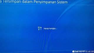 Setting Corrupt data memulihkan Save Data Tersimpan PS4