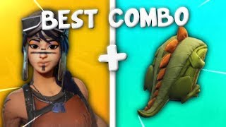 5 BEST COMBO SKINS RARE (Jalonneuse,Renegade Raider) sur Fortnite Battle Royale