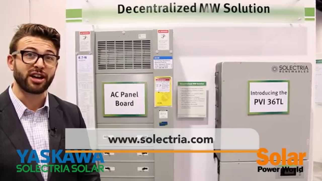 A walk through Solectria's Decentralized MW Solution at SPI 2015